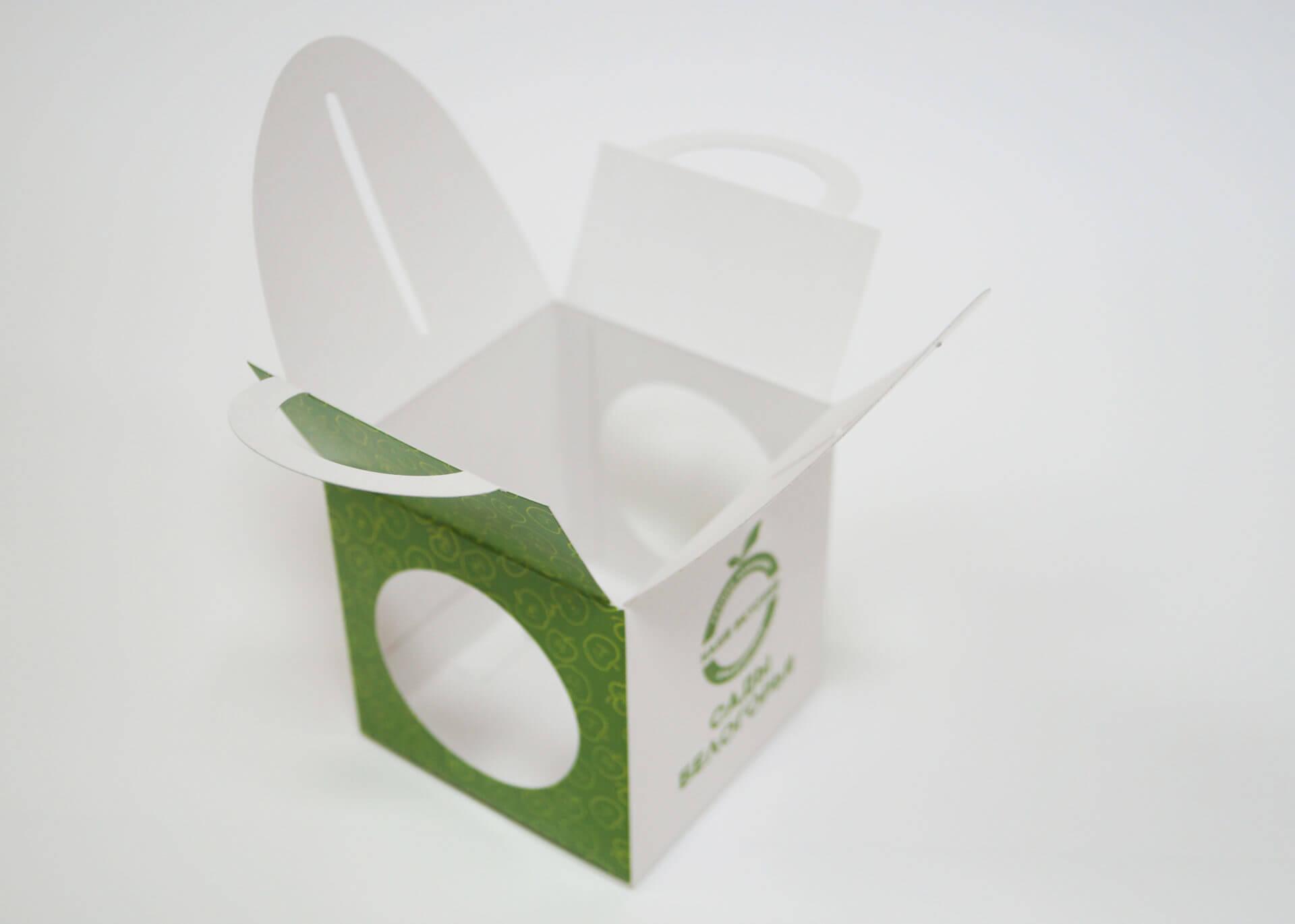 Изготовление визитка - коробочка